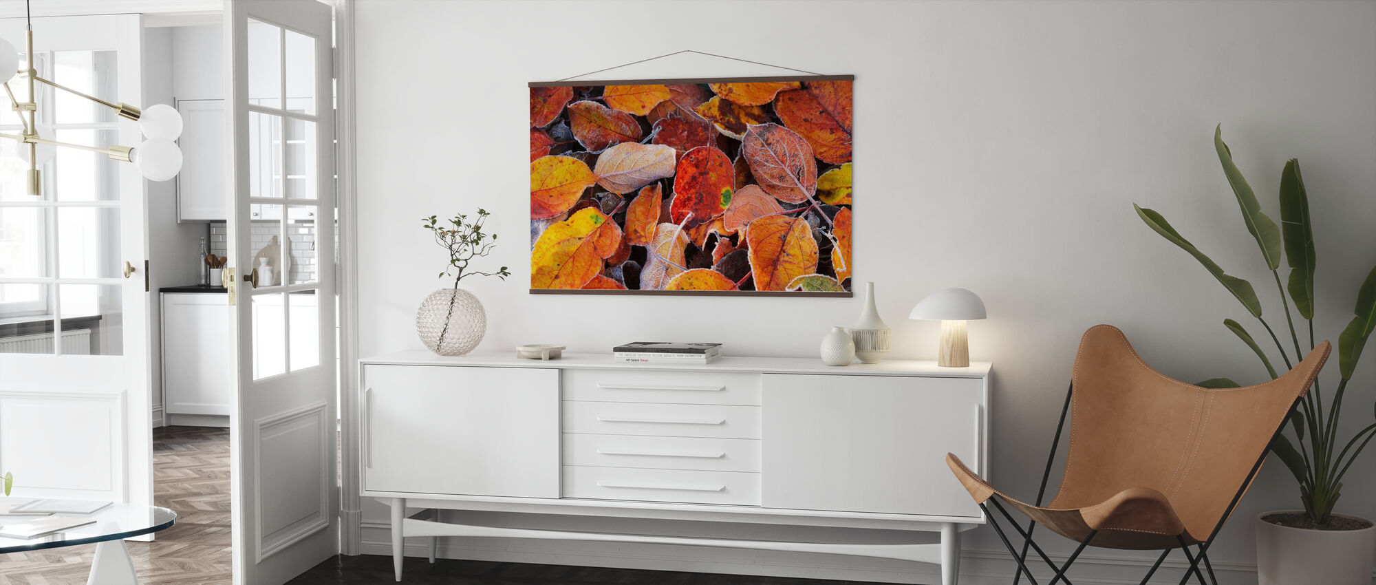 Colorful Leaves - Poster - Living Room
