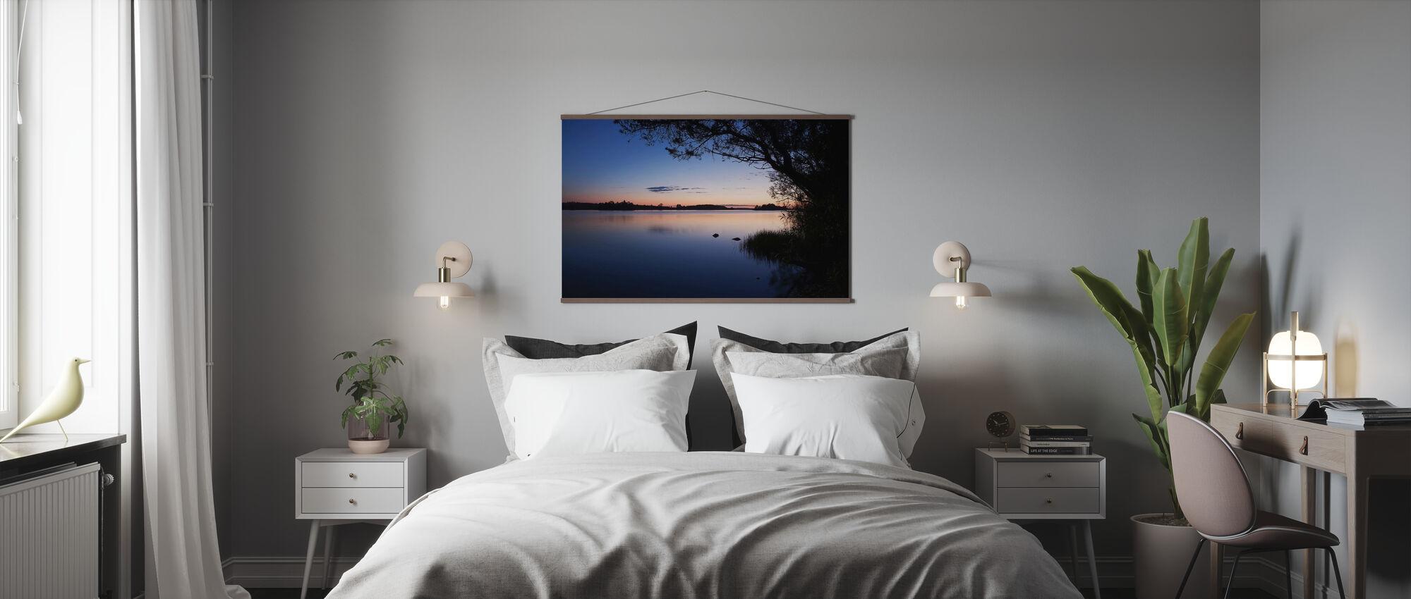 Blue Lake - Poster - Bedroom