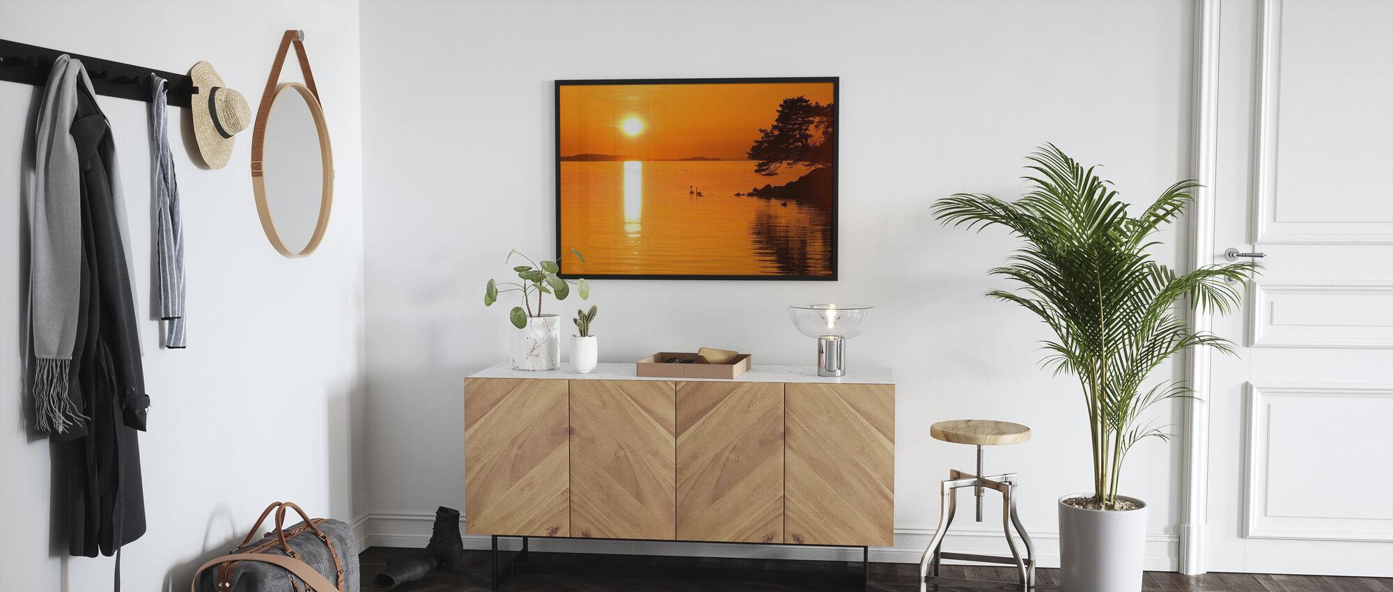 Sunrise Lake - Poster - Hallway