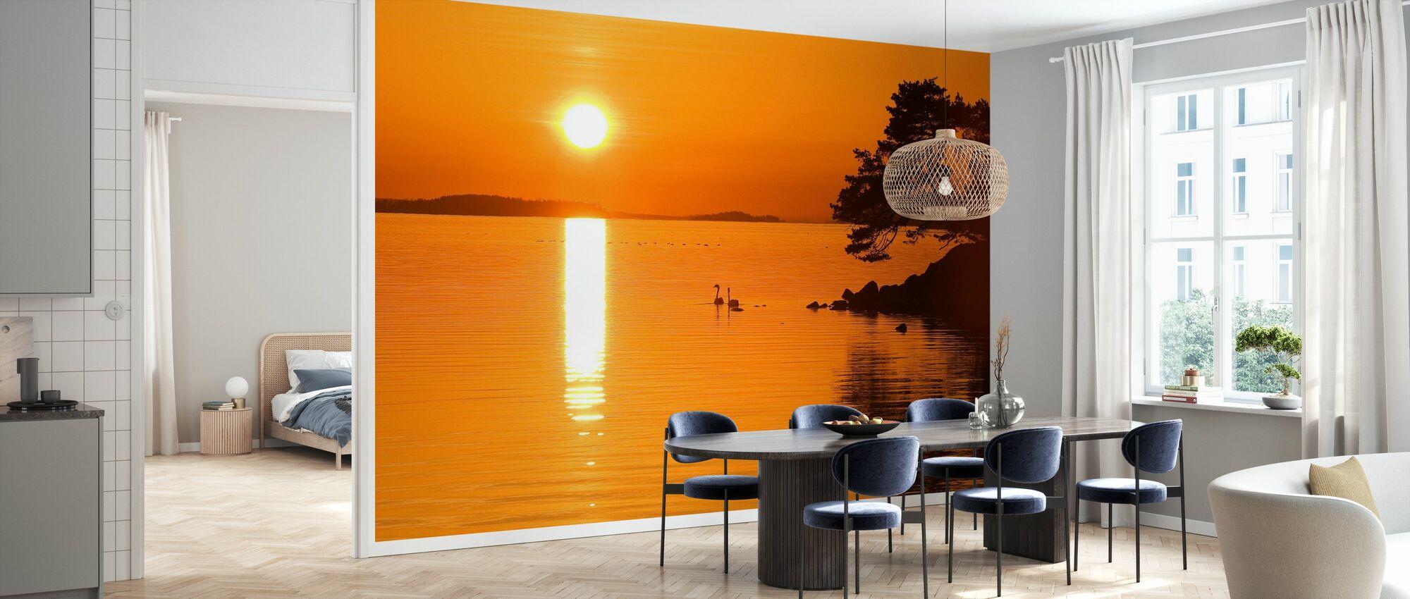 Sunrise Sjö - Tapet - Kök