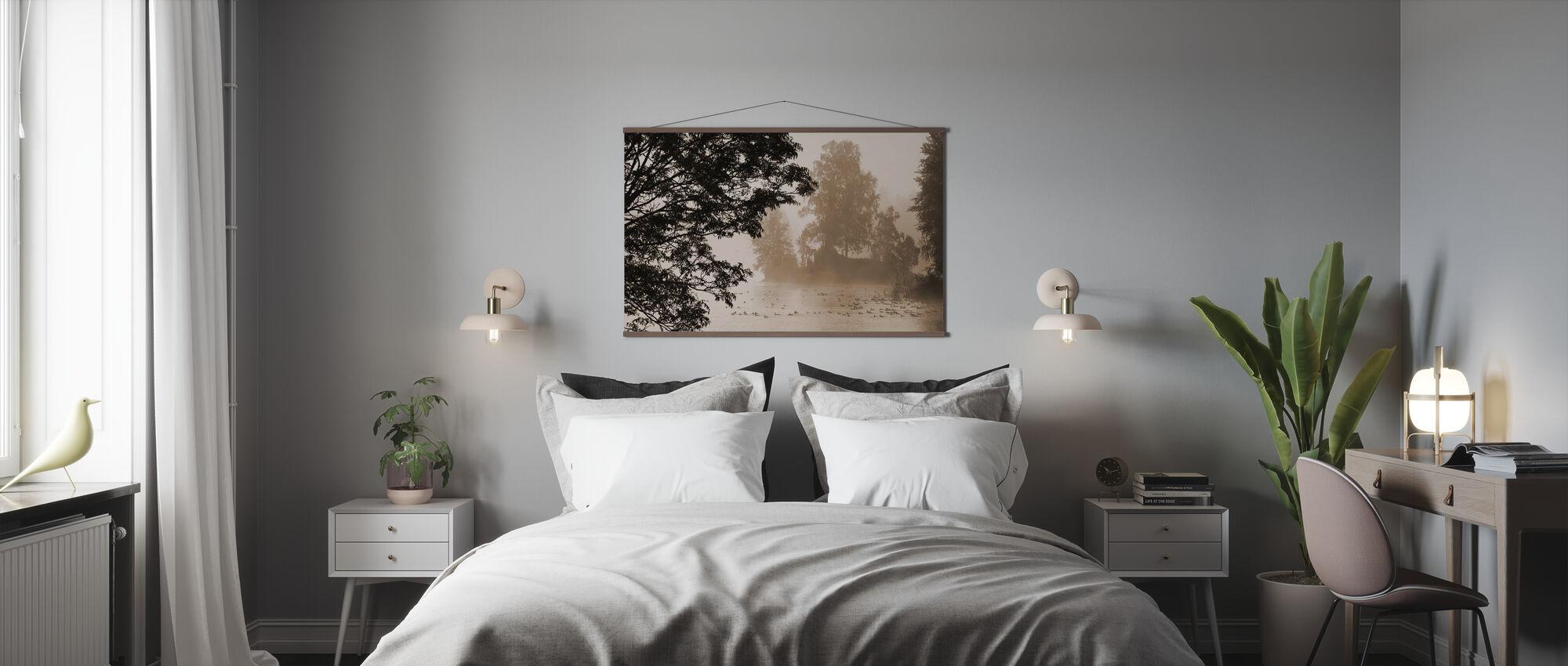 Morning Mist - Poster - Bedroom