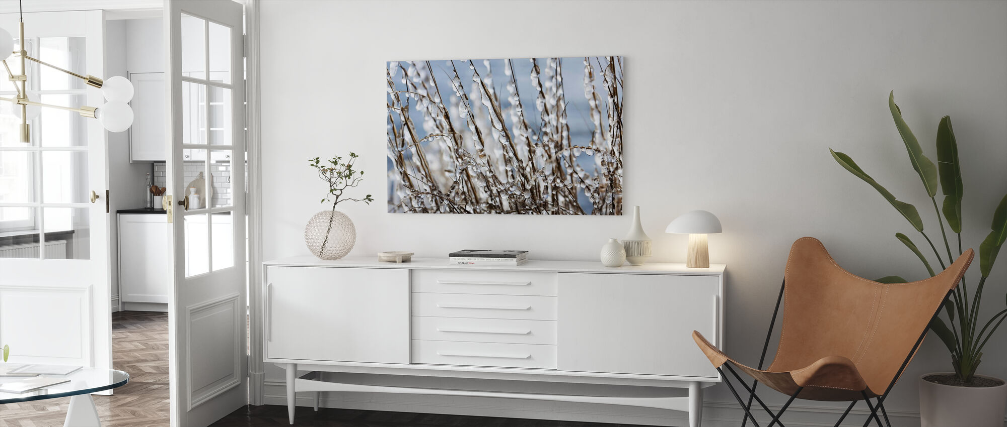 Ice Formations - Canvas print - Living Room