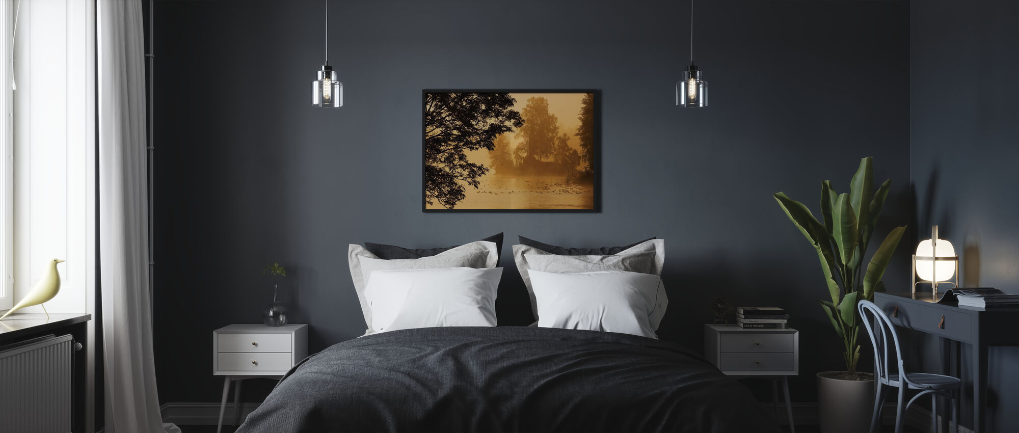 Bird Lake - Poster - Bedroom