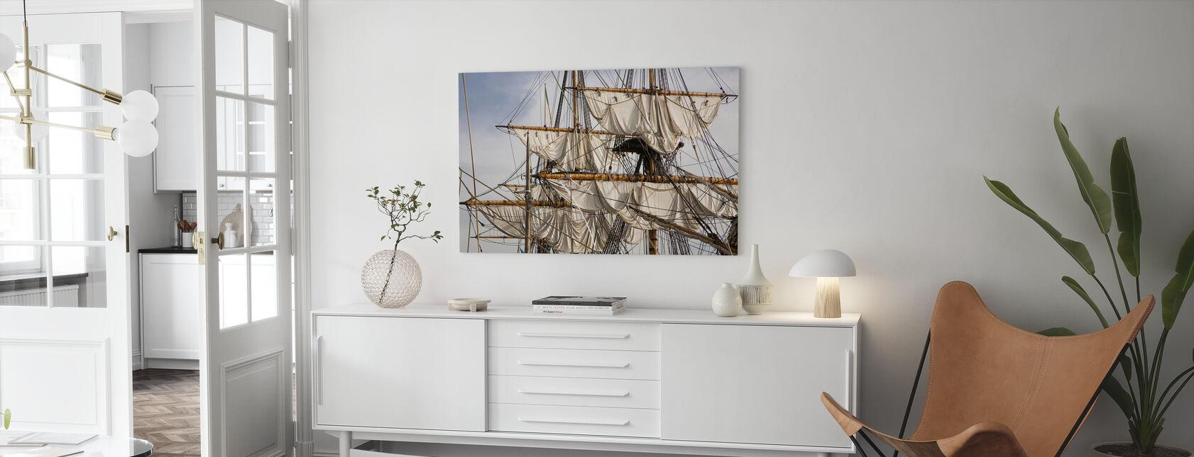 Sailing Ship - Canvas print - Living Room