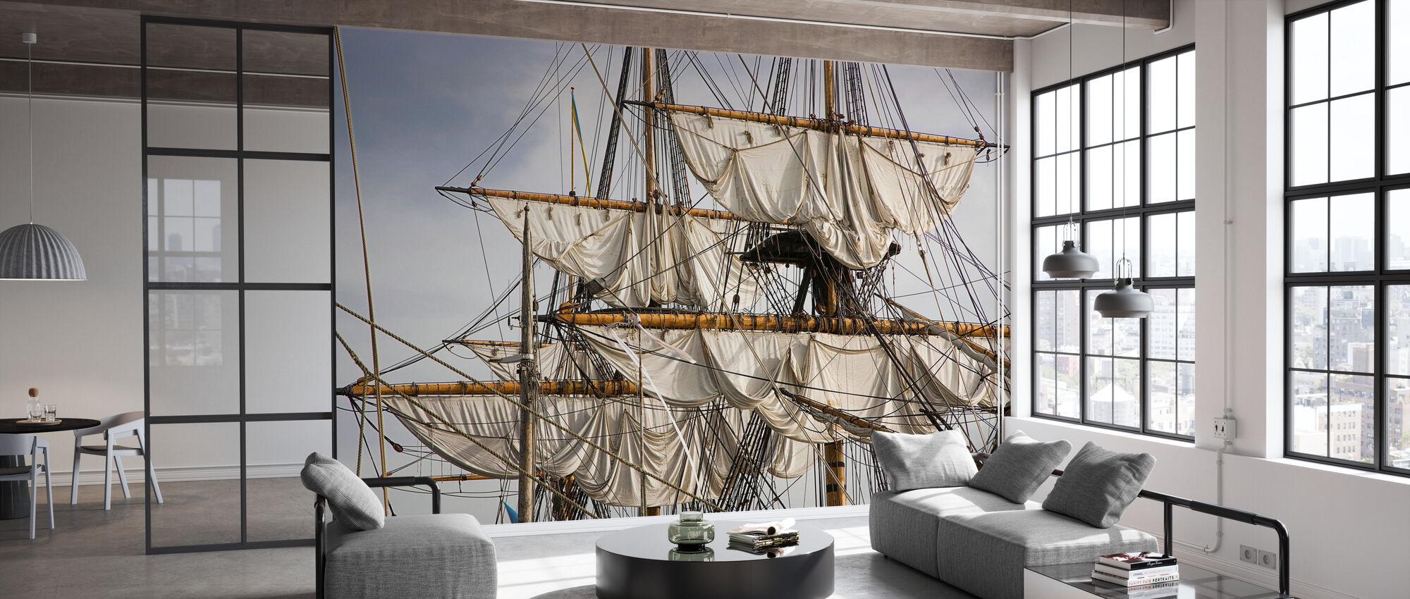 Sailing Ship - Wallpaper - Office
