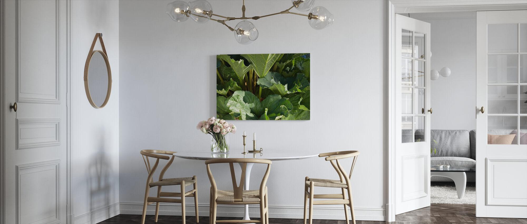 Rabarber - Canvas print - Keuken