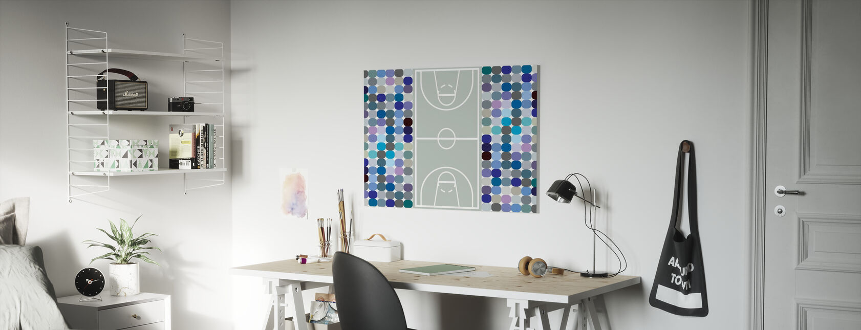 Basketball - Canvas print - Kids Room