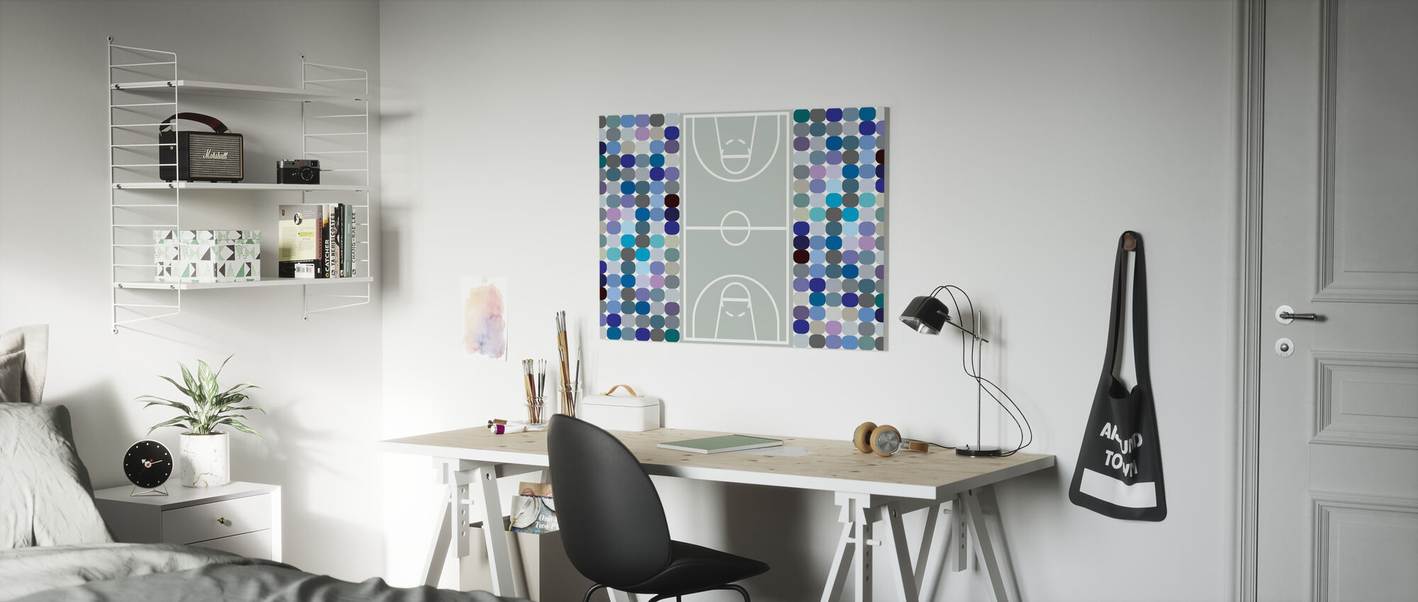Basketball - Canvas print - Kids Room