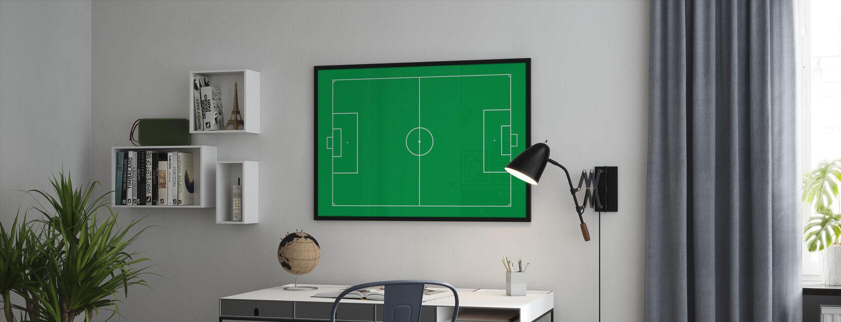 Voetbalveld - Poster - Kantoor