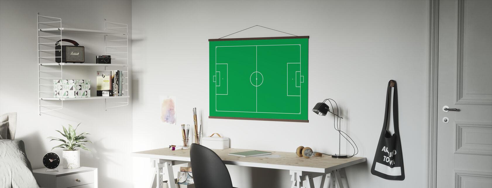 Soccer Field - Poster - Office