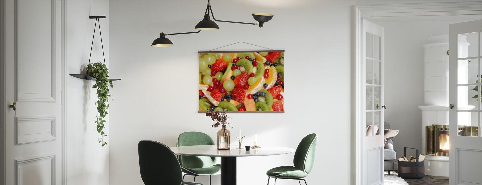 Fersk frukt - Plakat - Kjøkken