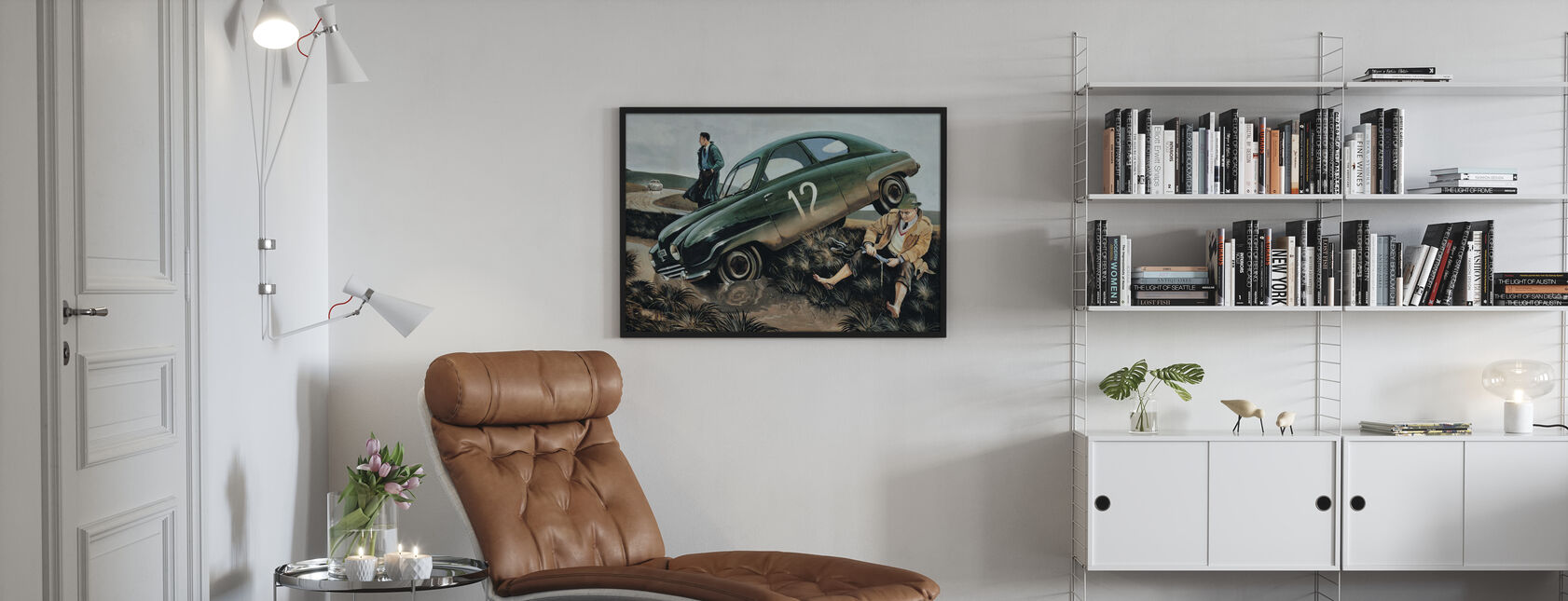 Carlsson bil - Indrammet billede - Stue