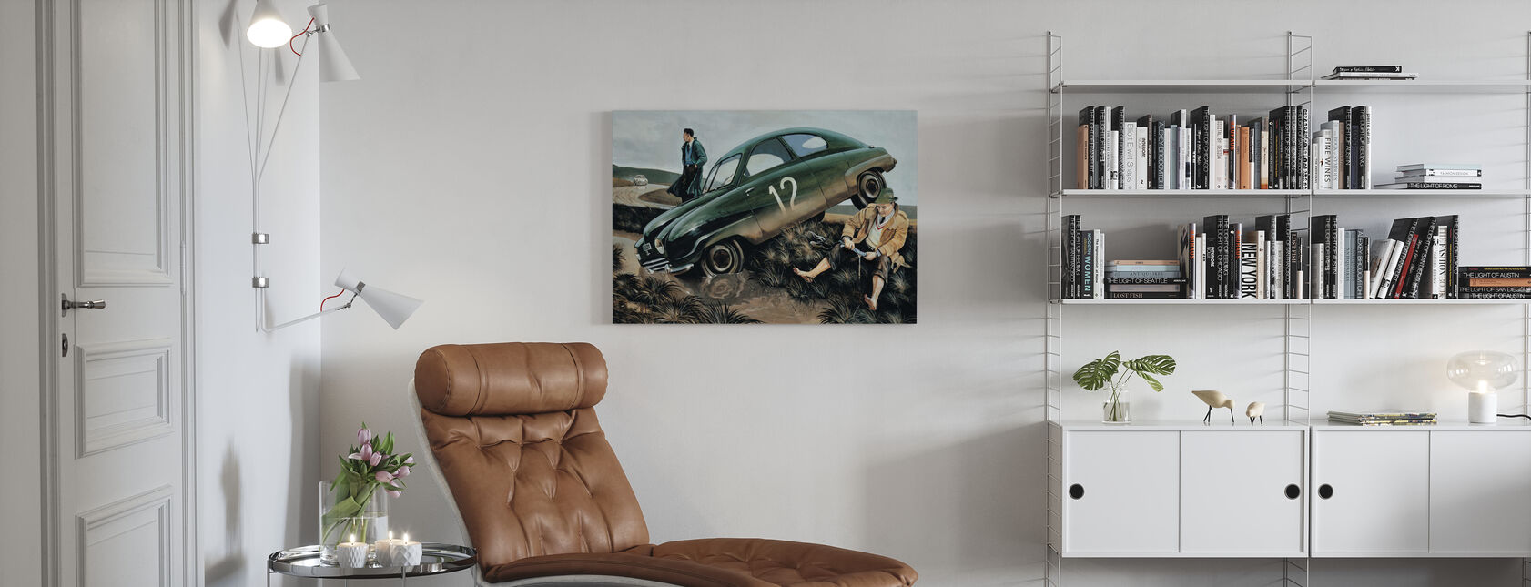Carlsson Auto - Canvastaulu - Olohuone