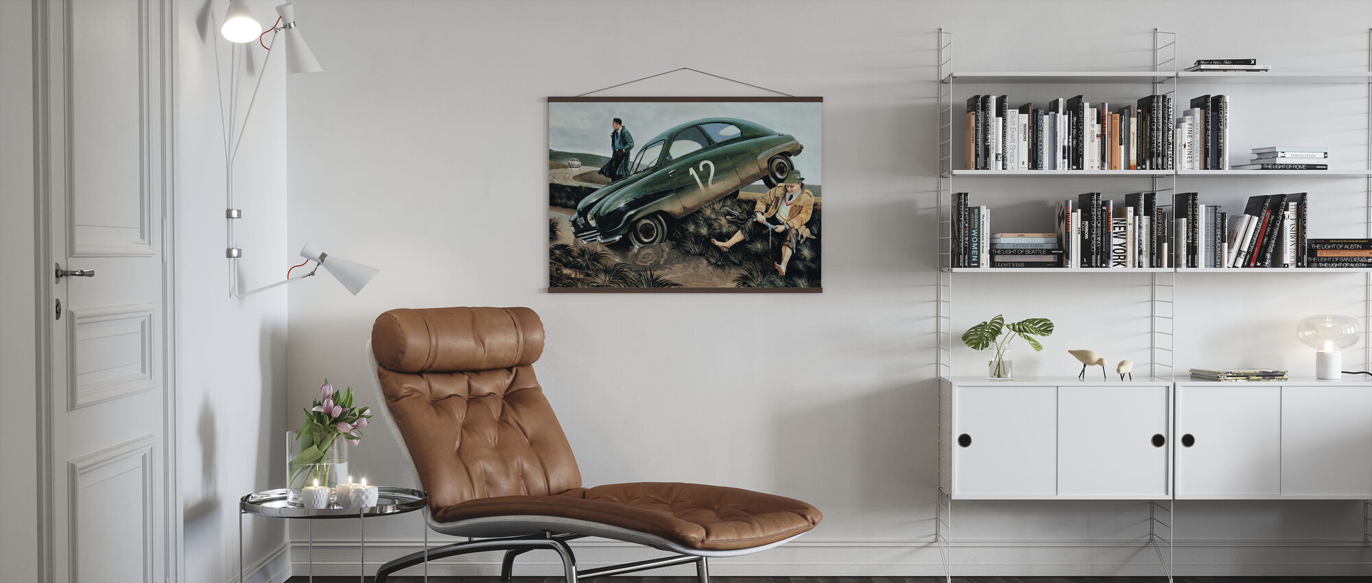 Carlsson Car - Poster - Living Room