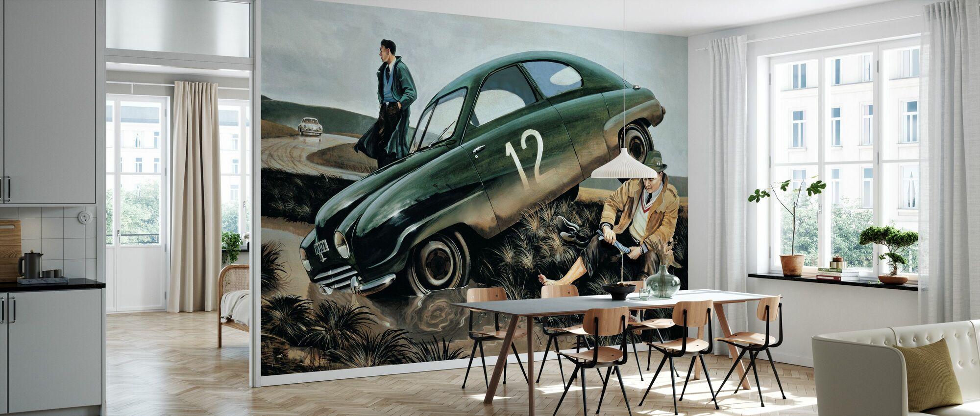 Carlsson Car - Wallpaper - Kitchen