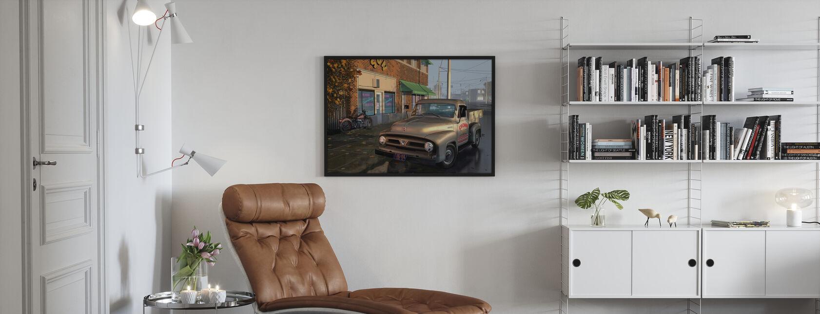 Truck - Framed print - Living Room