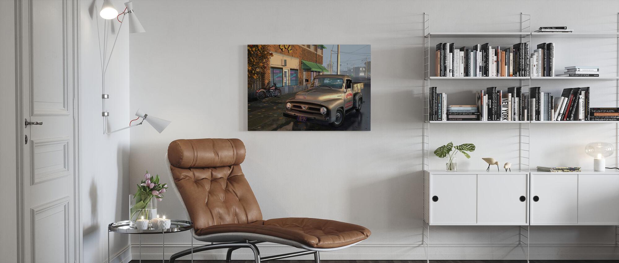 Truck - Canvas print - Living Room