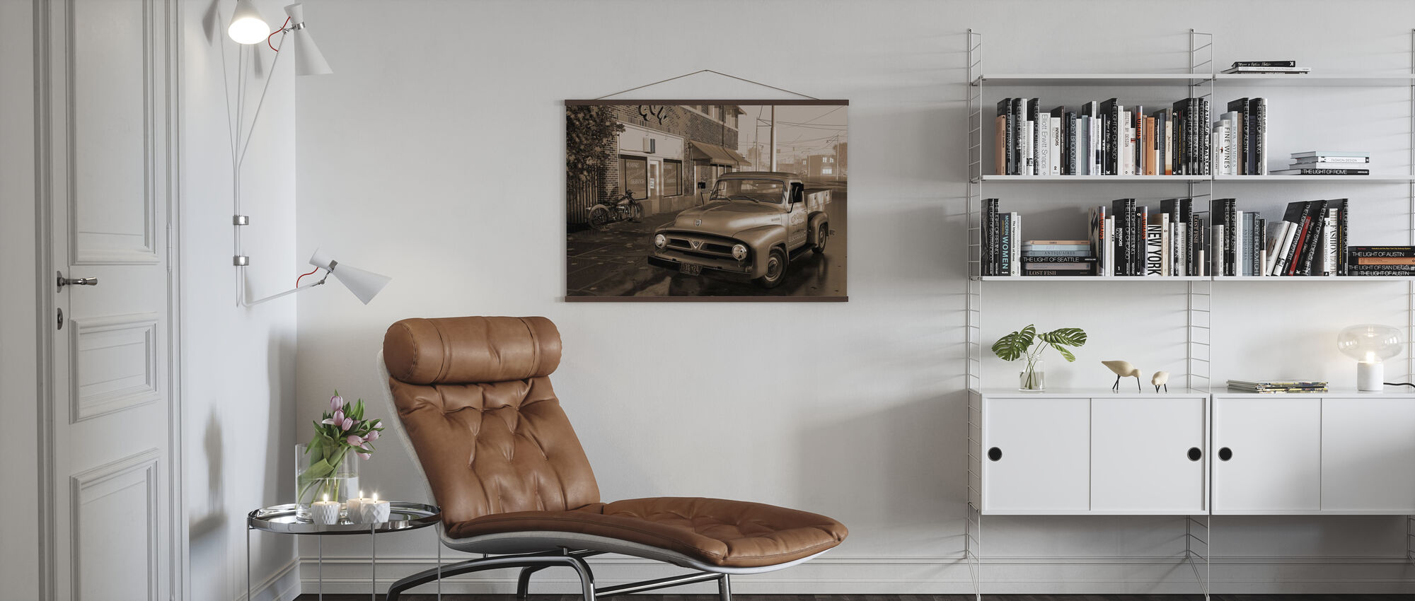 Camion Seppia - Poster - Salotto