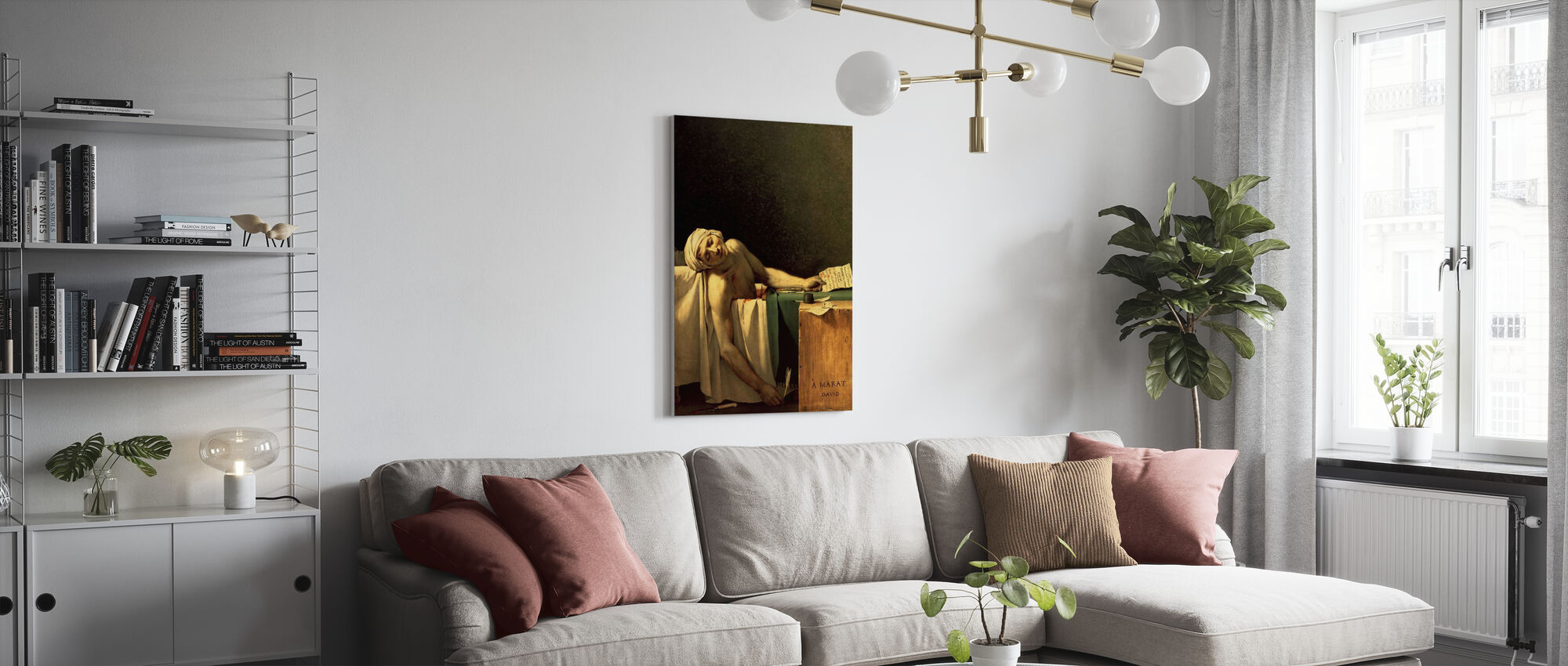 Jacques-Louis David - Canvas print - Living Room