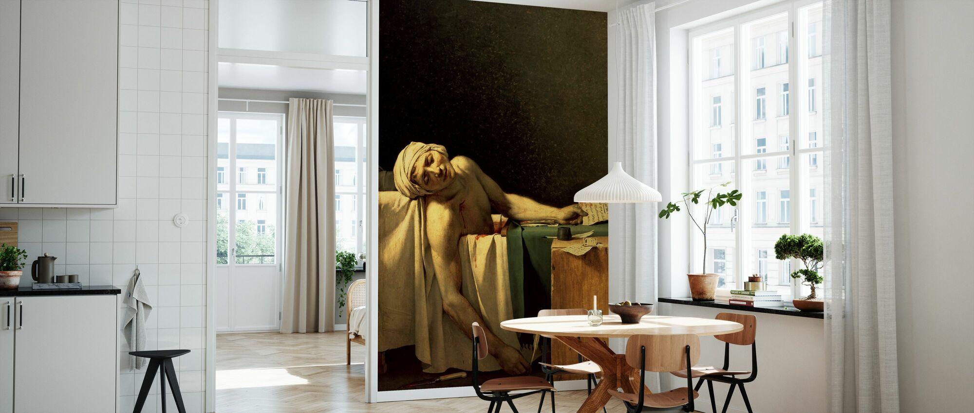 Jacques-Louis David - Tapet - Kjøkken