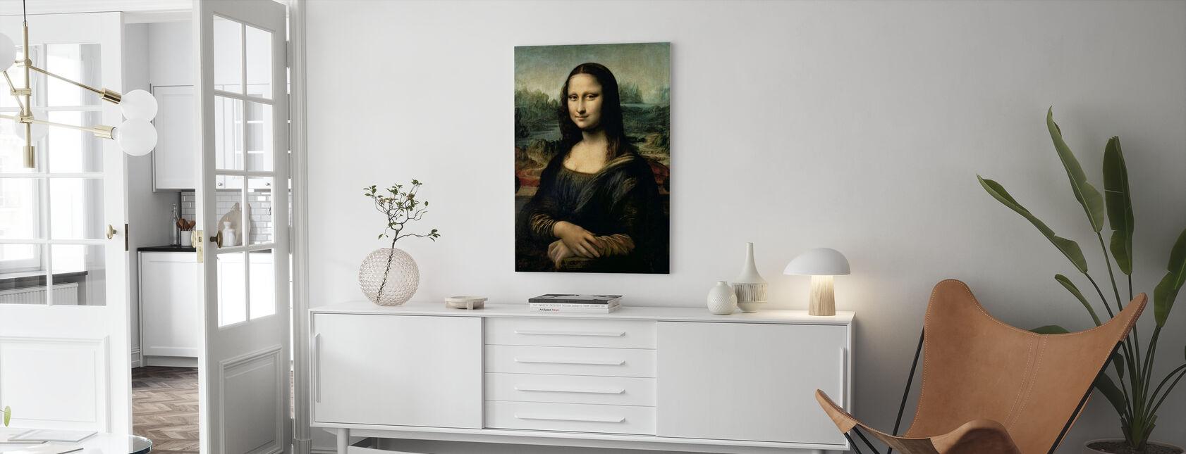 Mona Lisa, Leonardo da Vinci - Leinwandbild - Wohnzimmer