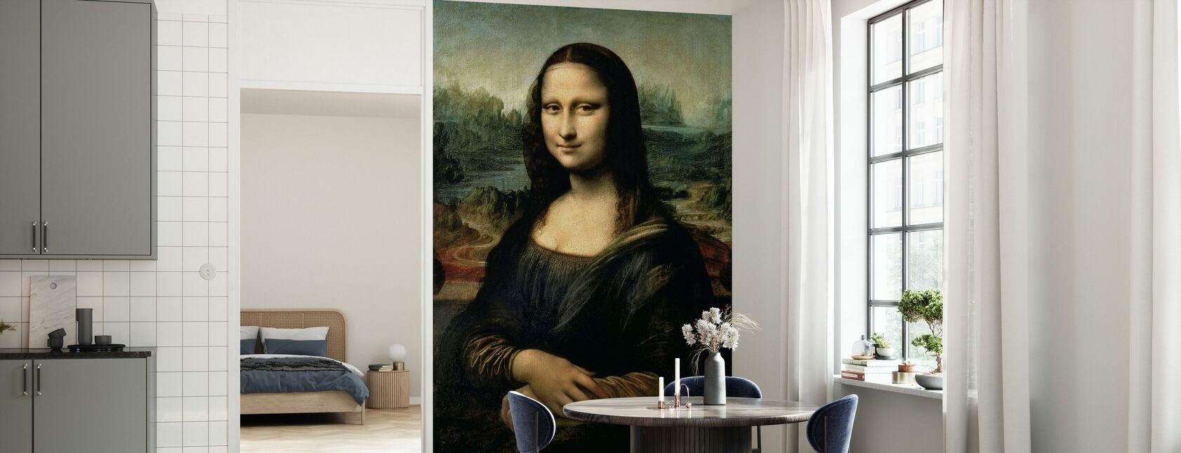 Mona Lisa, Leonardo da Vinci - Behang - Keuken