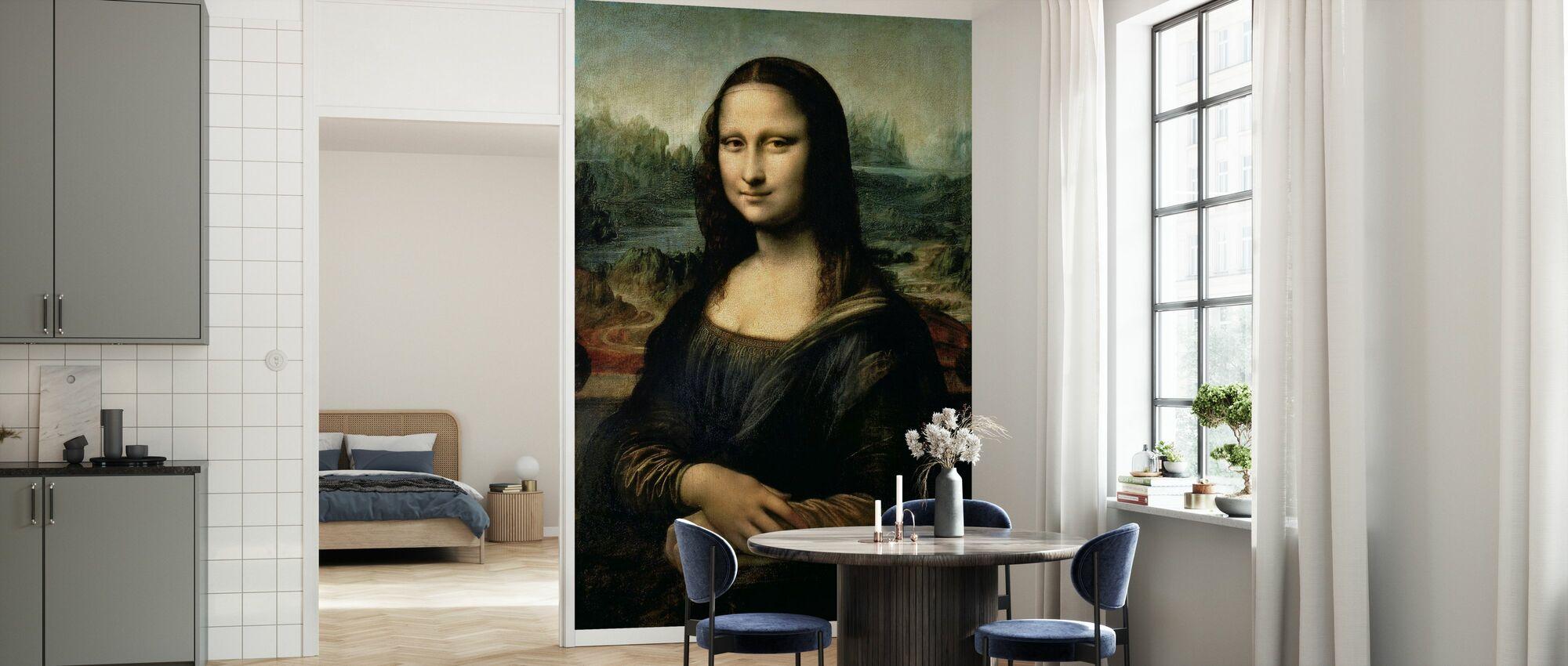 Mona Lisa, Leonardo da Vinci - Papel pintado - Cocina