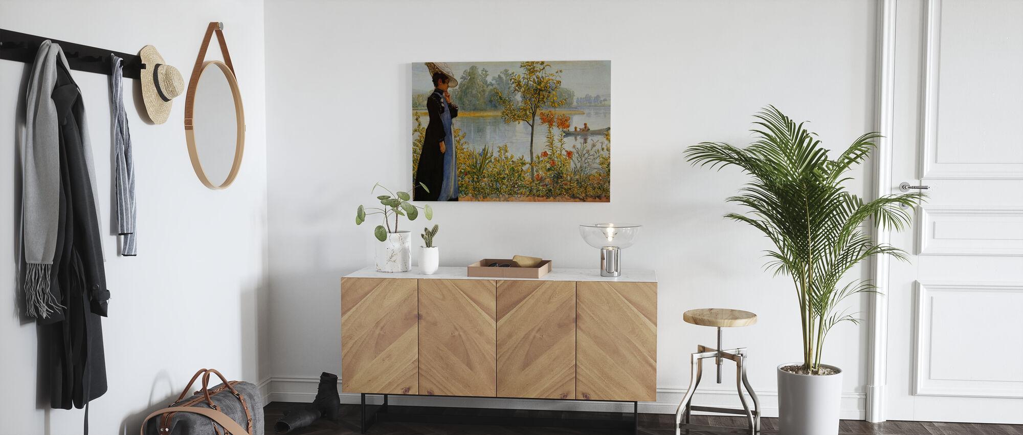 Indian Summer, Carl Larsson - Canvas print - Hallway