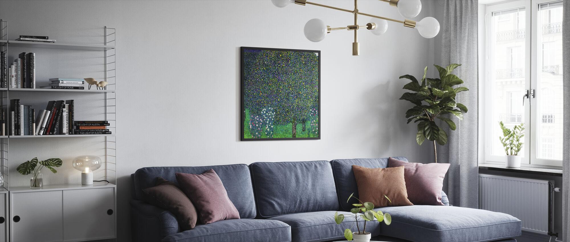 Bridge at Maincy, Gustav Klimt - Poster - Living Room