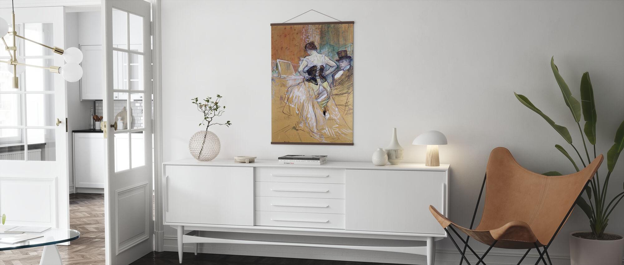 Women at her Toilet, Henri Toulouse Lautrec - Poster - Living Room