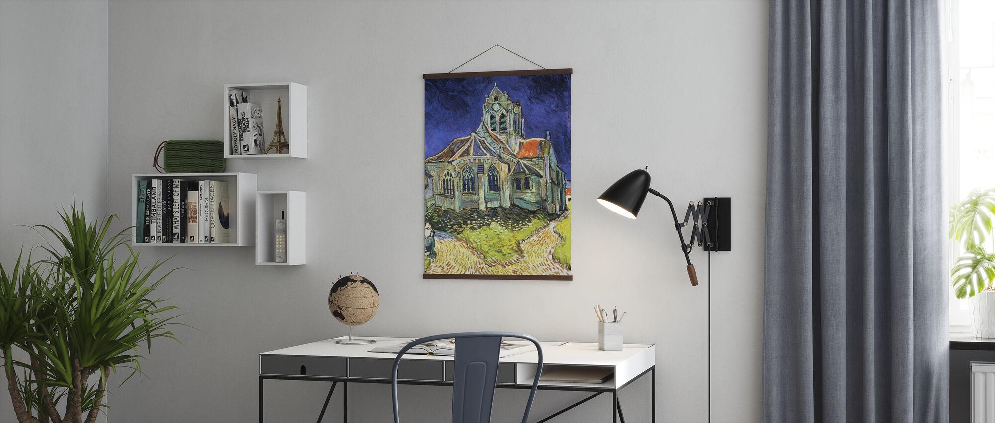 Kirke på Auvers-sur-Oise - Vincent van Gogh - Plakat - Kontor