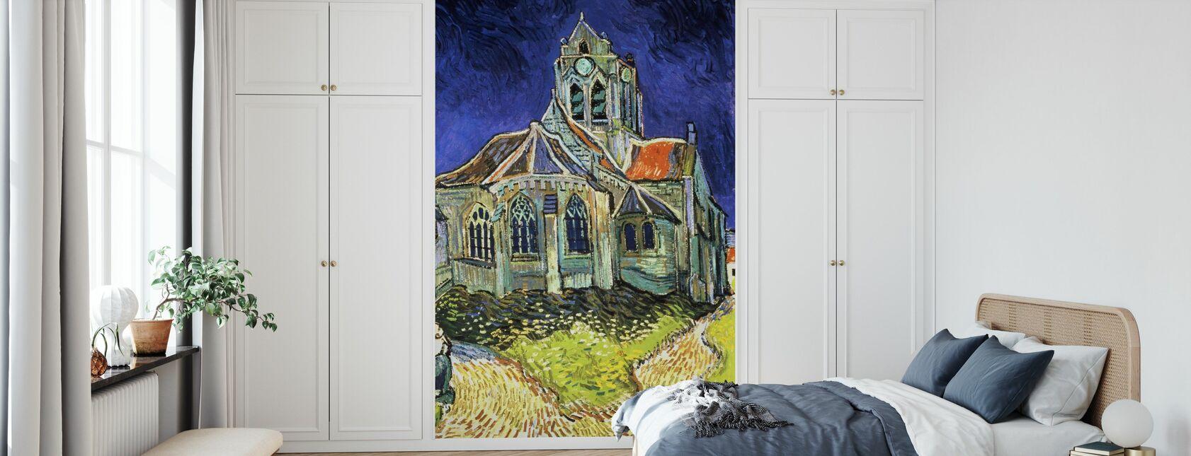 Église à Auvers-sur-Oise - Vincent van Gogh - Papier peint - Chambre