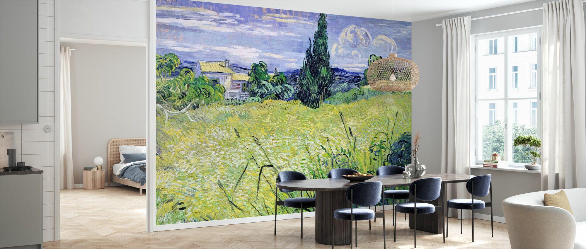 Field, Vincent van Gogh - Wallpaper - Kitchen