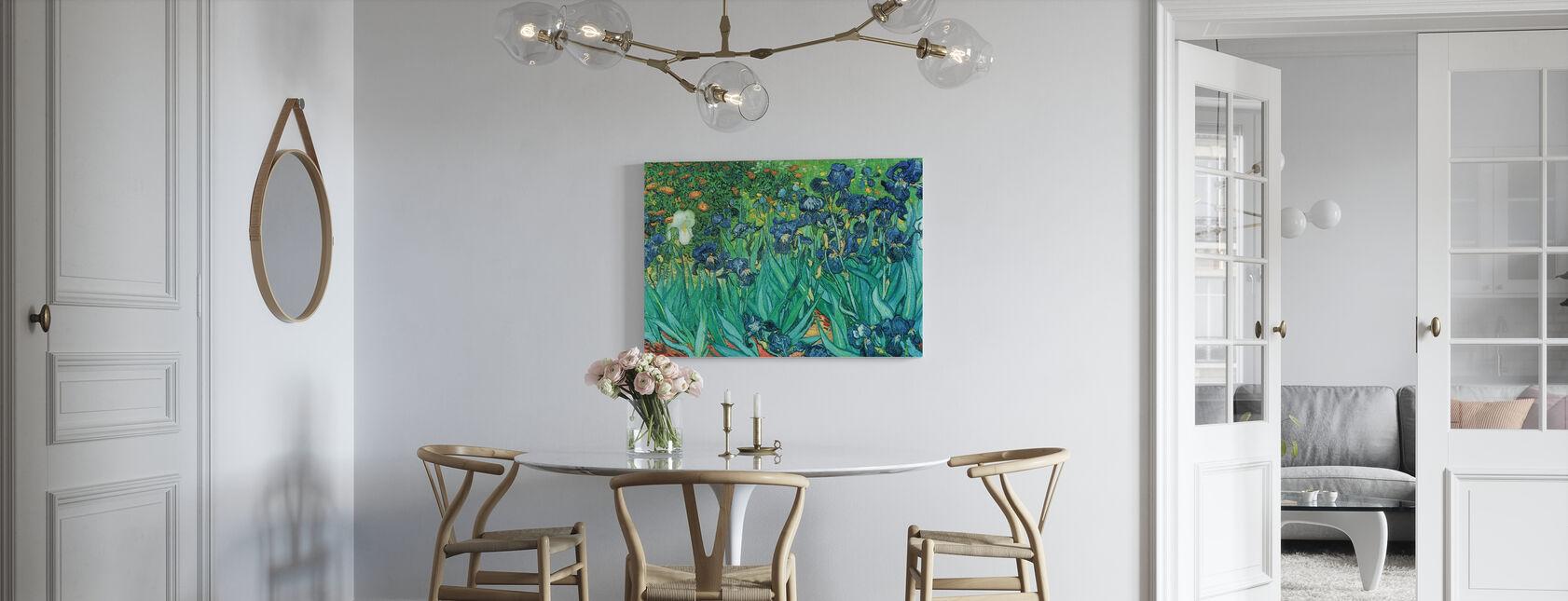 Irissen, Vincent van Gogh - Canvas print - Keuken