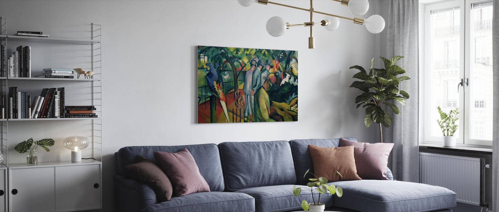 August Macke - Impression sur toile - Salle à manger