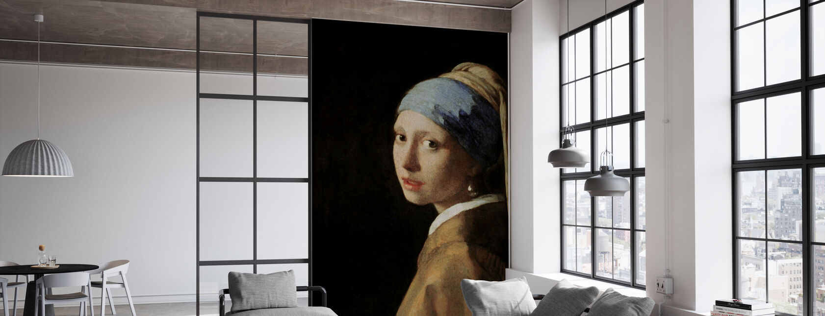Girl with a Pearl Earring, Jan Vermeer - Wallpaper - Office