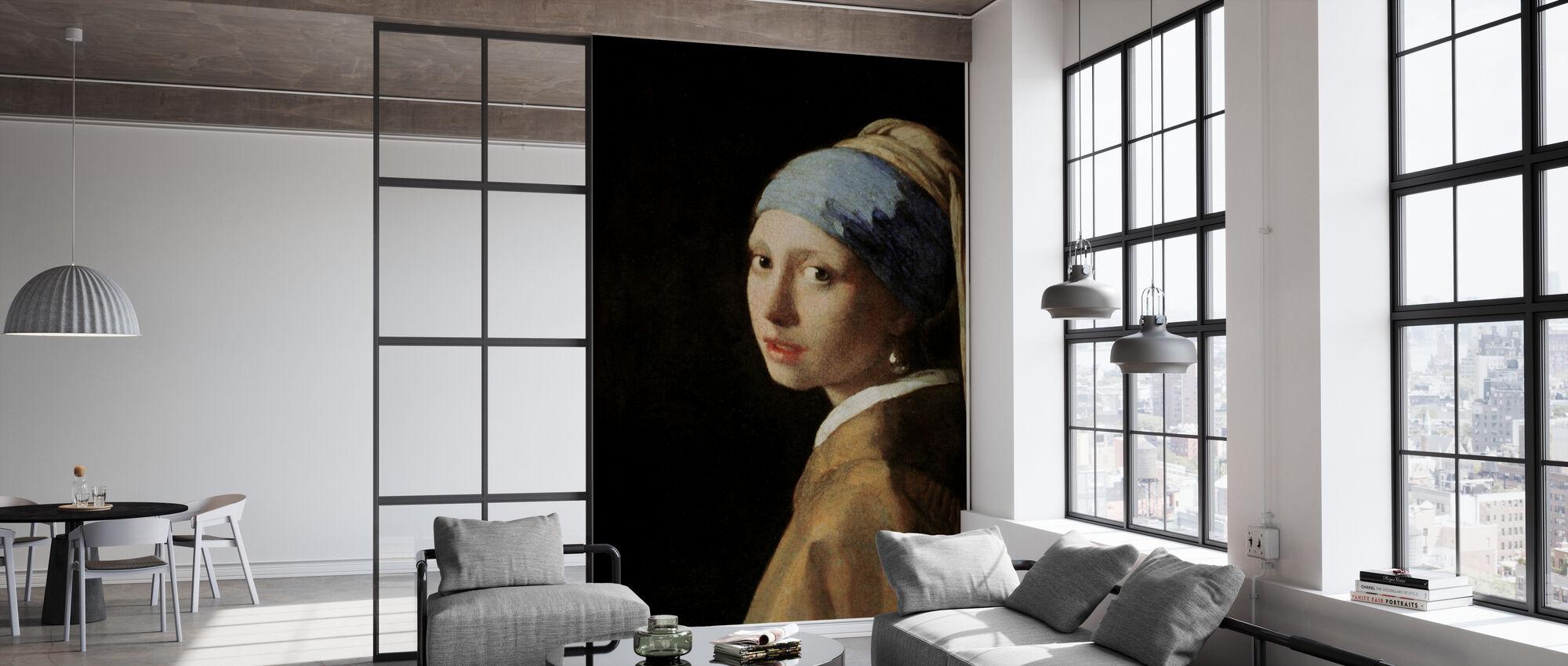 Girl with a Pearl Earring, Jan Vermeer - Wallpaper - Office