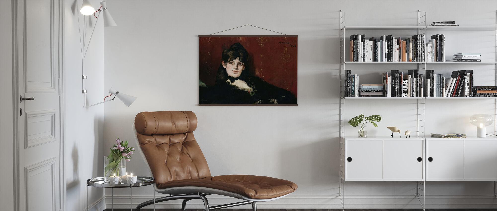 Berthe Morisot, Edouard Manet - Poster - Living Room