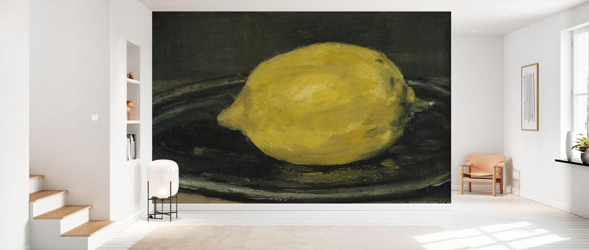 Zitrone, Edouard Manet - Tapete - Flur
