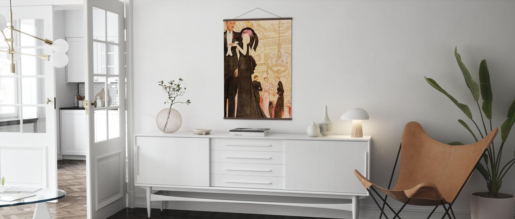 Evening Scene, National Magazines - Poster - Living Room