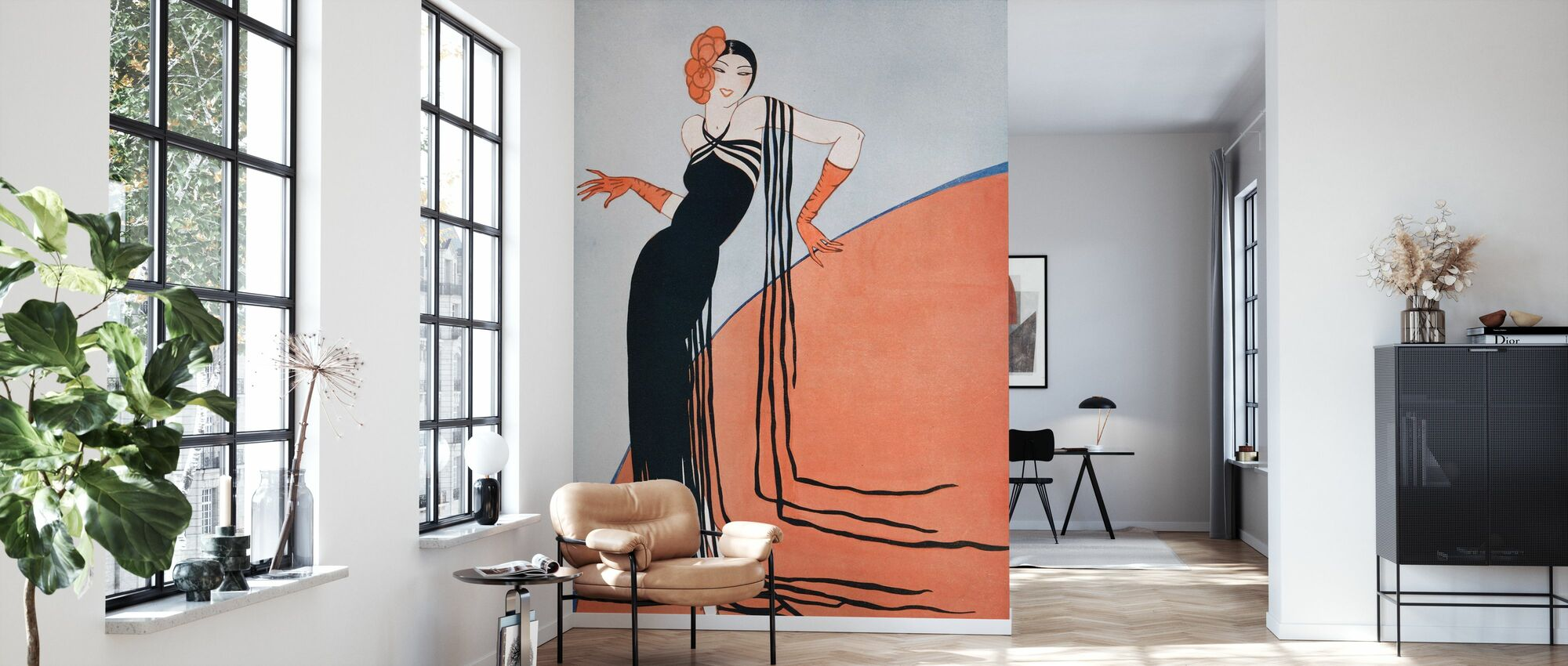 Spanish lady, Gordon Conway - Wallpaper - Living Room