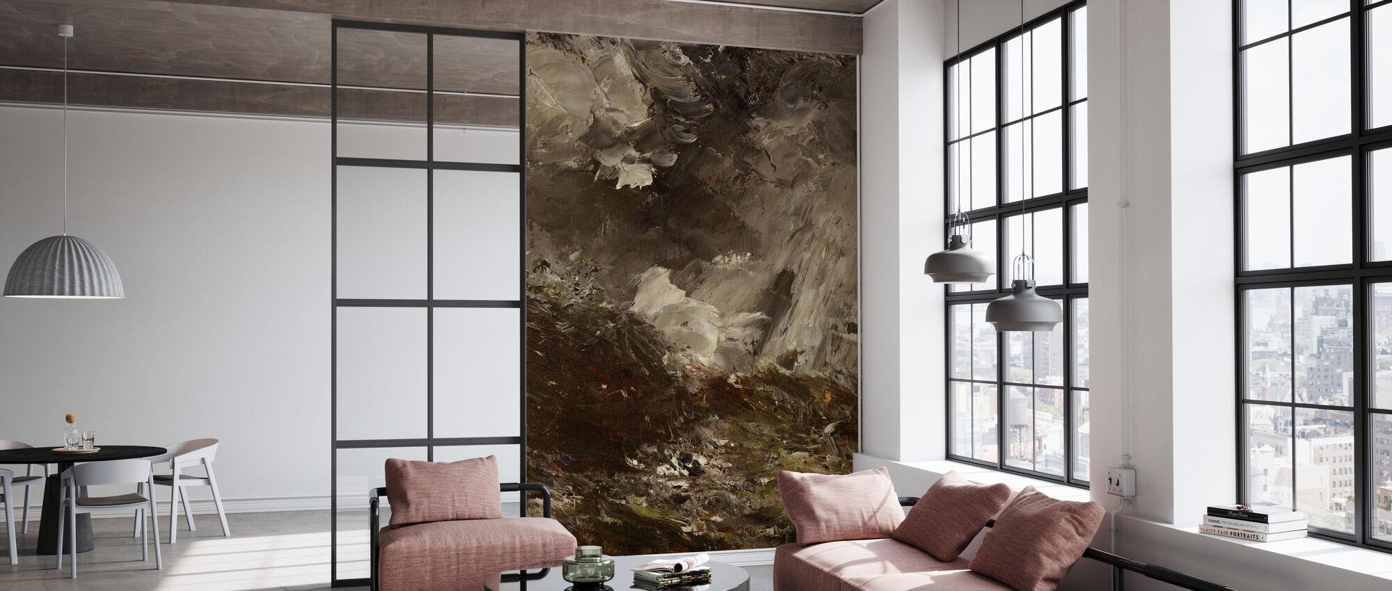 Night of jealousy, August Strindberg - Wallpaper - Office