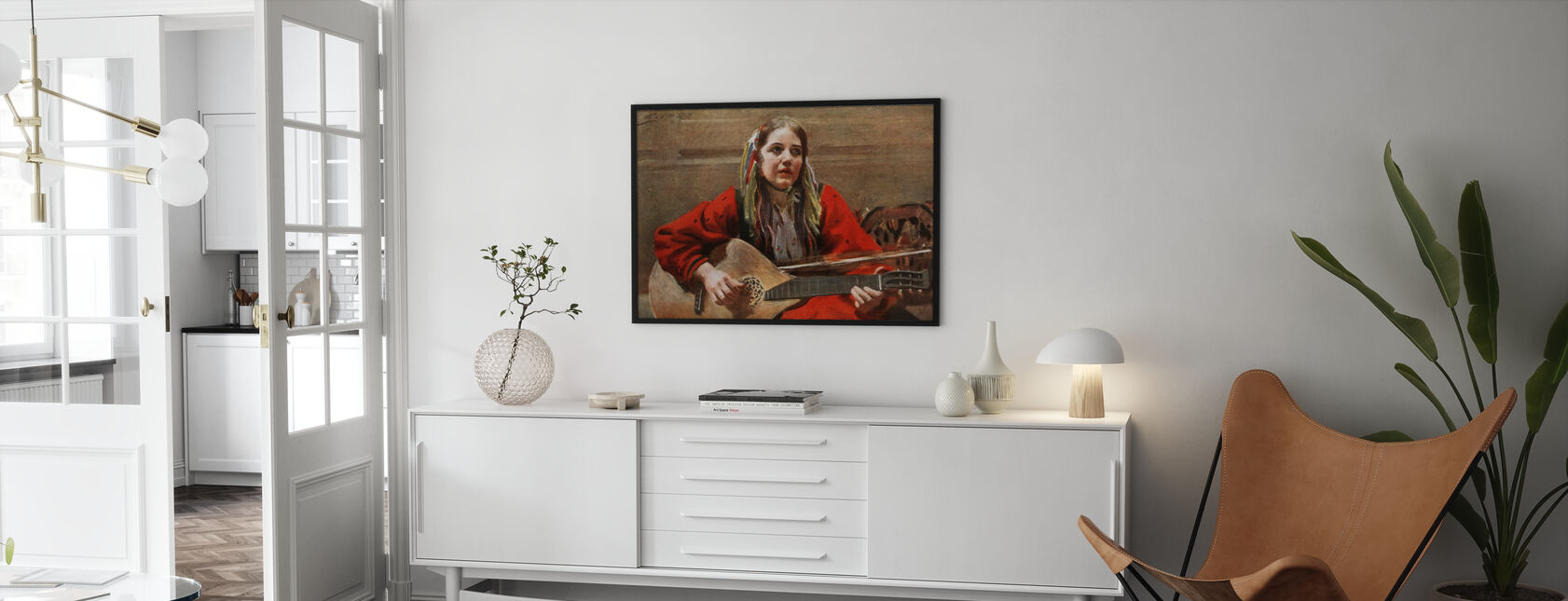 Gagnefkulla, Anders Zorn - Framed print - Living Room