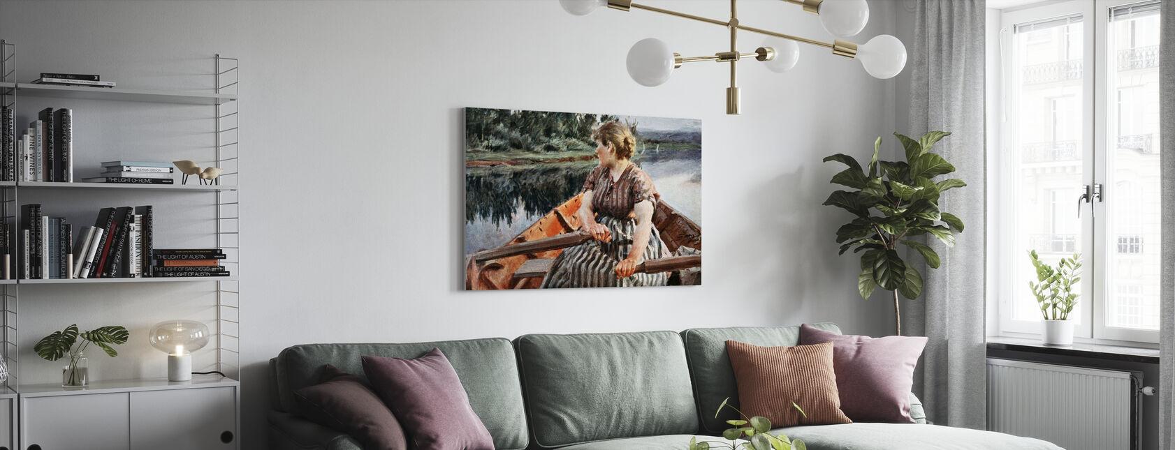 Midsummer Night, Anders Zorn - Canvas print - Living Room