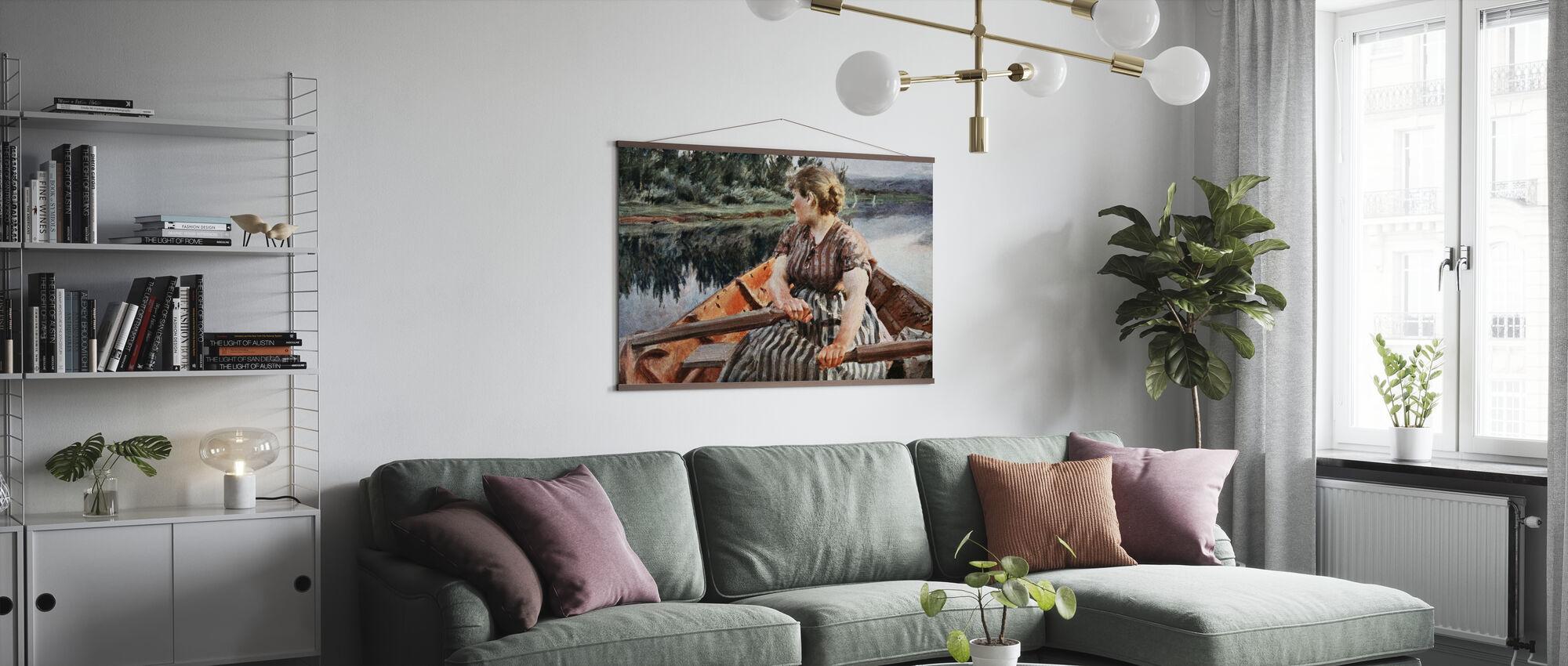 Mittsommernacht, Anders Zorn - Poster - Wohnzimmer