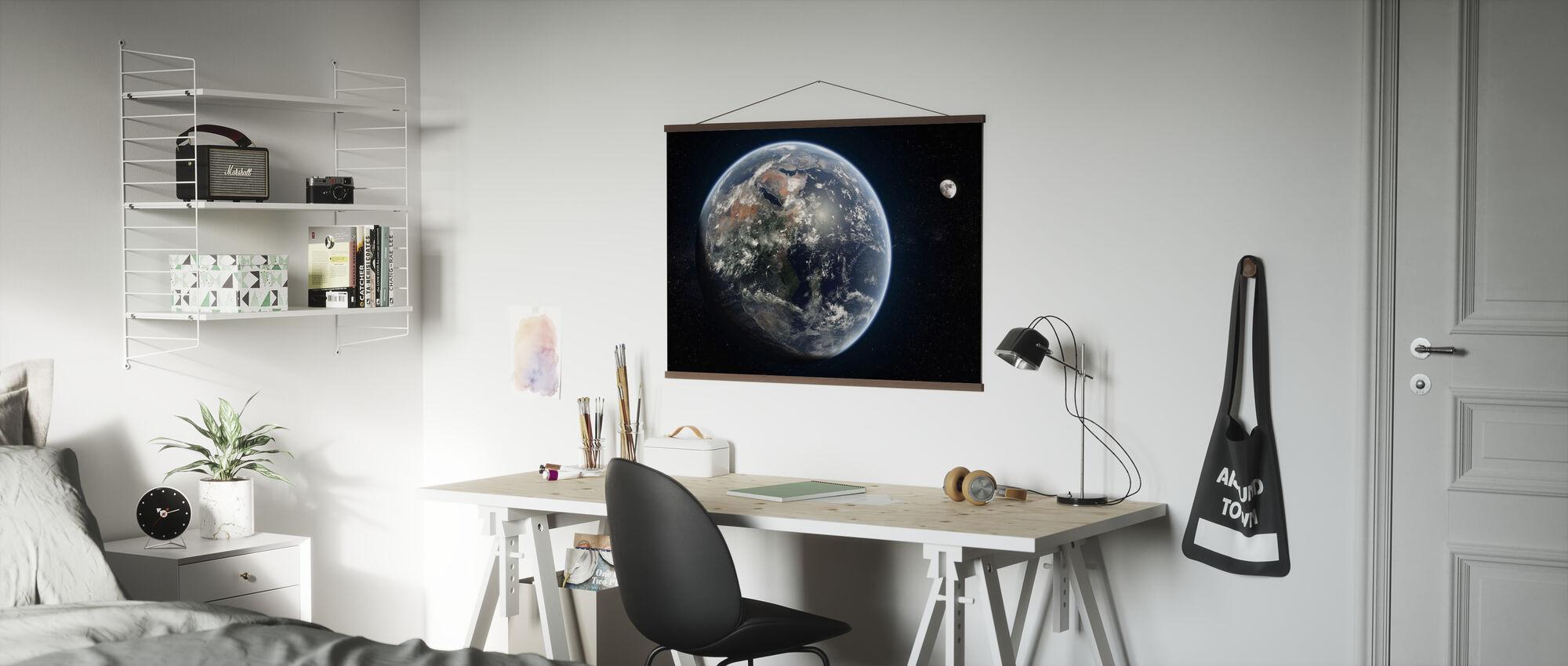 Blue Dot - Poster - Office