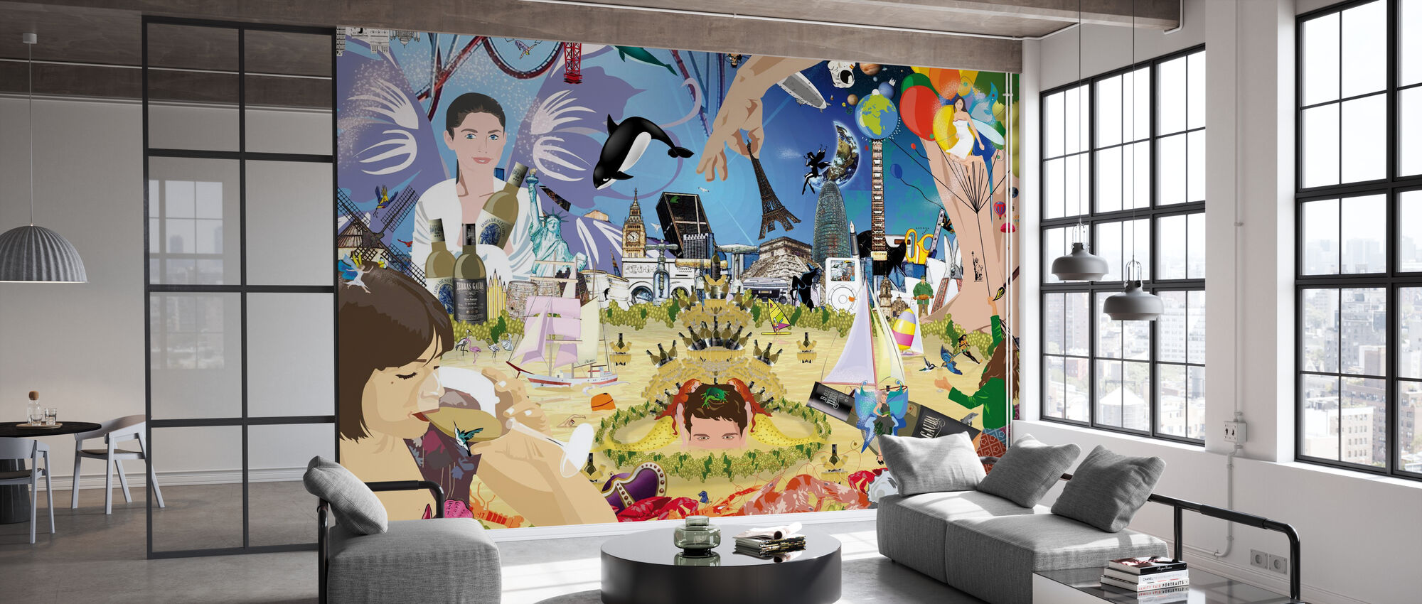 Bacchus - Wallpaper - Office