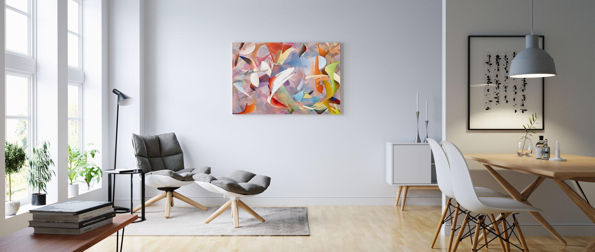 Dog Dreams - Canvas print - Living Room