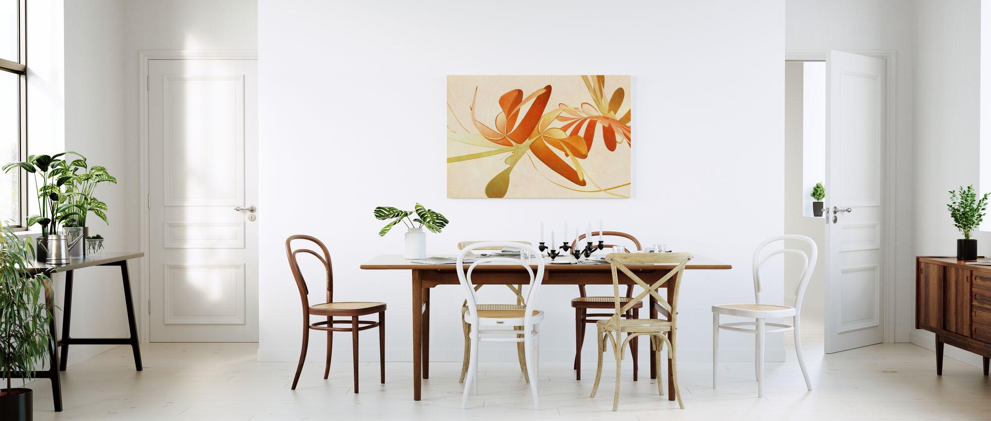 Positief - Canvas print - Keuken