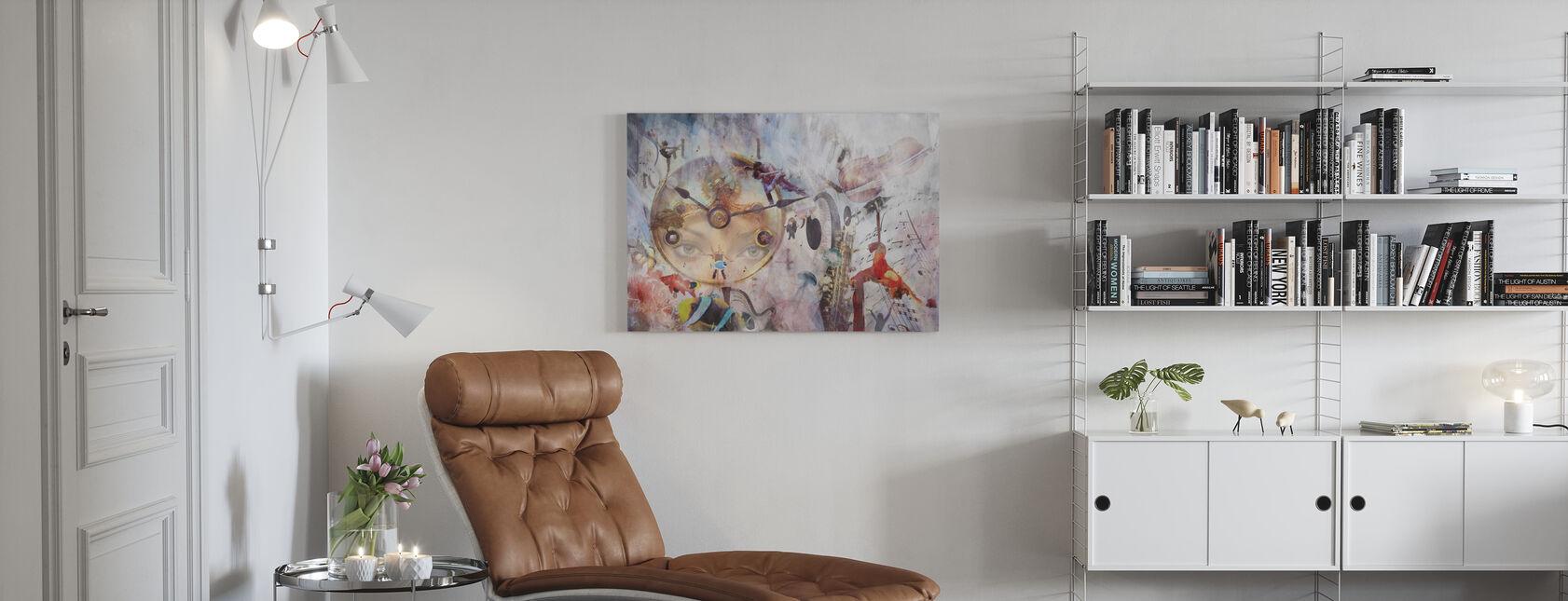 Tempo - Canvastavla - Vardagsrum
